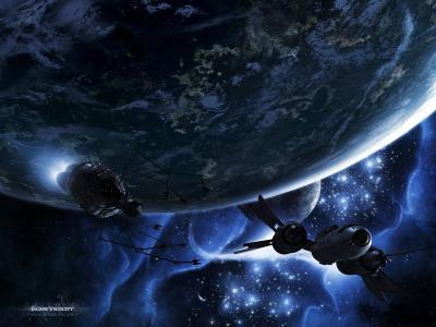 逃生速度,行星,船舶,空间,卫星