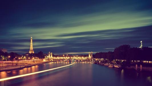 巴黎,晚上
