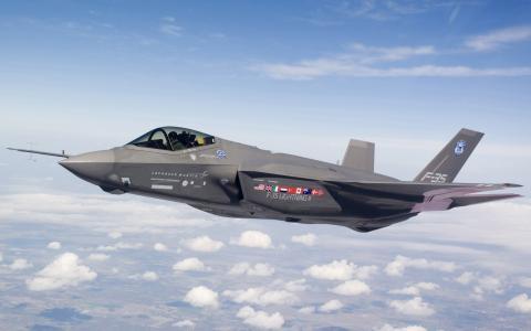 身高,F-35,战斗机,云