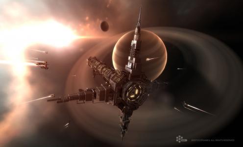 站,空间,星球,船