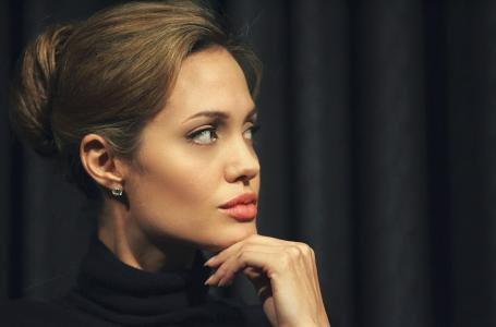 女演员,嘴唇,名人,安吉丽娜·朱莉,安吉丽娜·朱莉