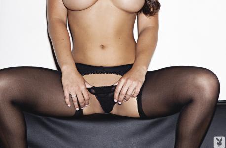 女孩,内裤,腿,胸部