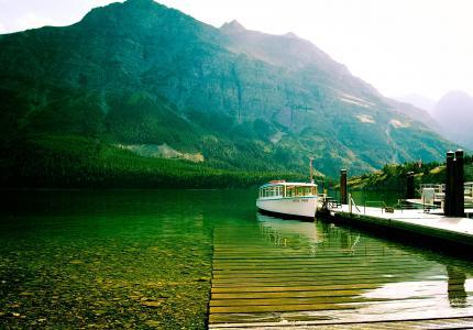 高山湖泊,圣。