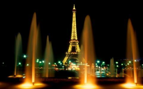 法国,巴黎,yushnya,喷泉