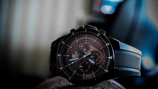 手表,大厦,卡西欧,ef-552pb