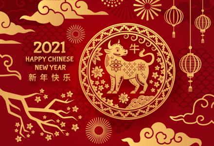 牛年2021年占星生肖吉祥物牛角