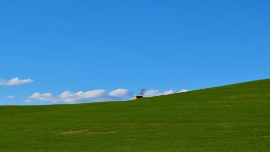 无边际的草原