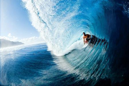 照片,波,冲浪,美丽
