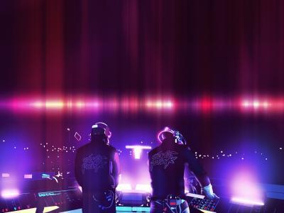 全球,DJ,激光表演