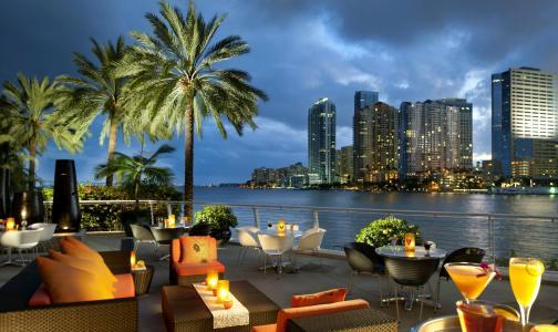 海洋,美国,迈阿密,海湾,咖啡馆,城市,佛罗里达州,迈阿密