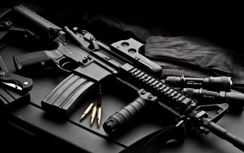 自动,武器,墨盒
