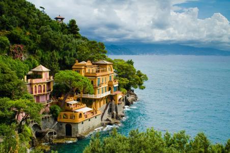 波托菲诺,意大利利古里亚,房子