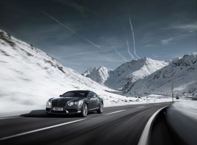 2012年宾利欧陆GT V8,汽车,道路