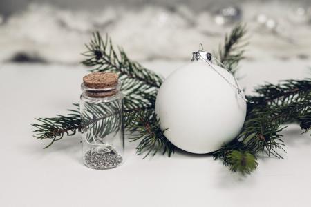 球,雪,物体,玩具,罐子