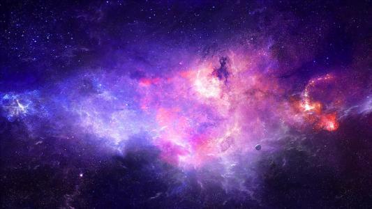 空间,艺术,星云,星球,星星