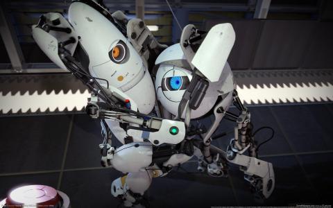 门户网站2,阀门,机器人,机器人,CG壁纸