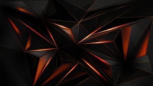 黑色,橙色,纹理