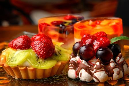 甜,甜点,蛋糕,食物