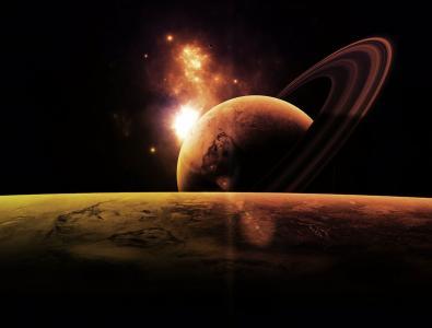宇宙,行星,空间,空间