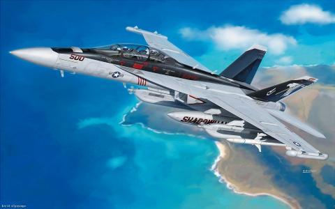 EA 18,格勒,火箭,天空