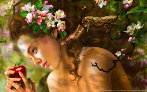 幻想,蛇的女孩