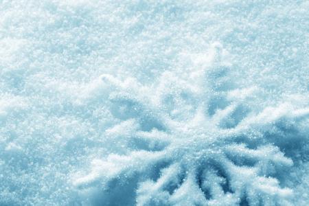 美丽,雪花,大,伟大的雪花