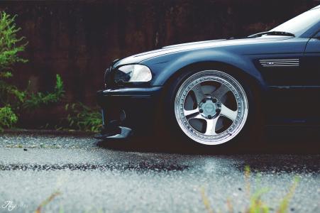 宝马,超级跑车,三位一体,调整,磁盘,道路,灰色的背景