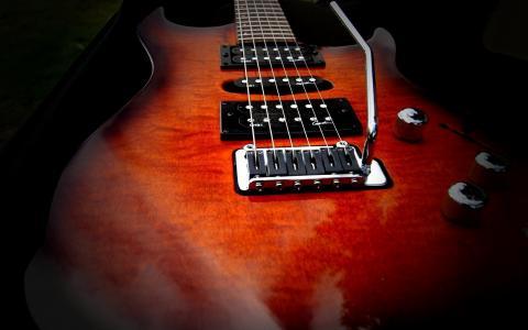 电吉他,弦乐,格里芬