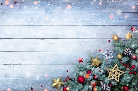 假日,新年,圣诞节,板,分支机构,针,云杉,视锥细胞,装饰品,玩具,浆果,星星,球