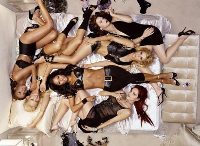 组,猫咪娃娃,女孩,性感,小队,说谎,冒充,音乐,黑白混血儿,妮可·舒辛格