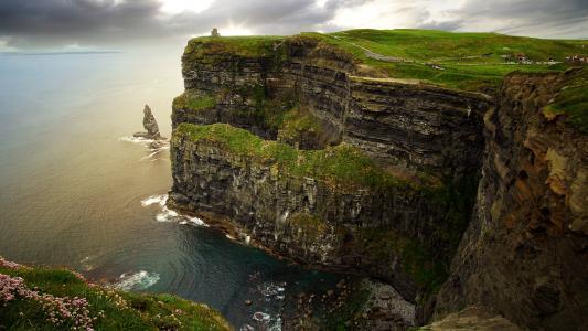 岩石,悬崖,悬崖,石头,人们,寺庙,性质
