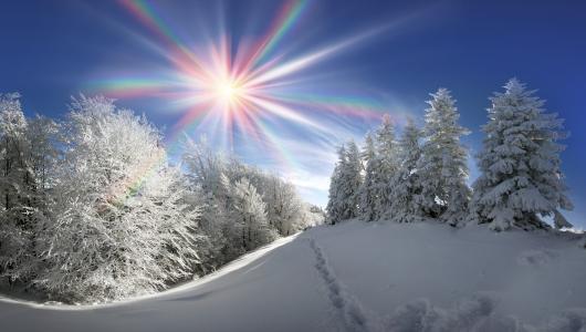 冬天,下雪,美丽