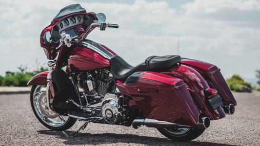 哈雷戴维森,摩托车,勃艮第