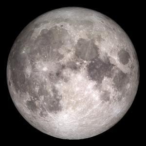 空间,原,照片,照片,月亮,伴侣,美丽