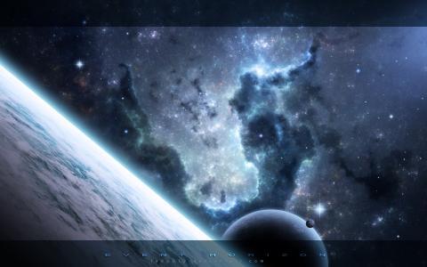 星星,星星,宇宙,行星,星云,空间,星云,空间