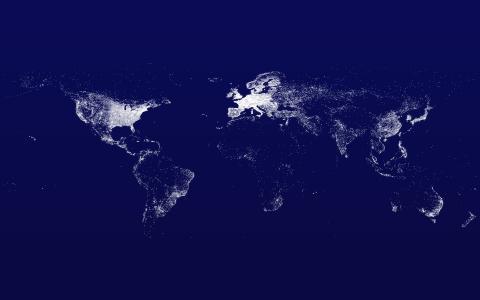 世界地图,互联网,地图,互联网