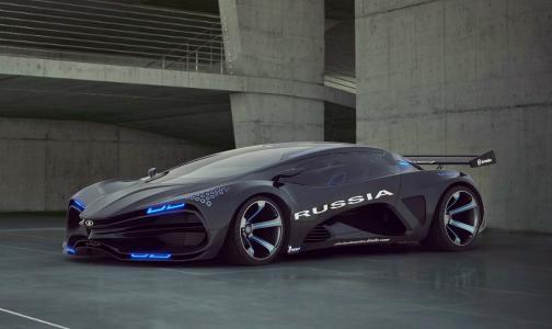 拉达,拉达,拉维,乌鸦,概念,概念,超级跑车,超级跑车